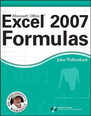 Excel 2007 Formulas John Walkenbach