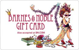 Barnes and noble gift card amount