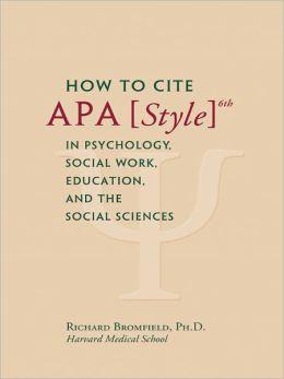 How to cite a book on a website apa
