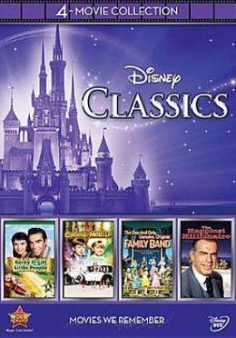 Disney Classics 4 Movie Collection By Walt Disney Video