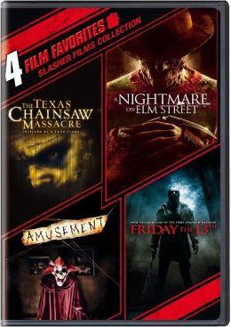 Slasher Films Collection 4 Film Favorites By Warner Home