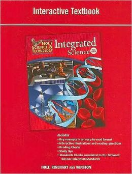Holt Science & Technology: Interactive Textbook Level Red ...