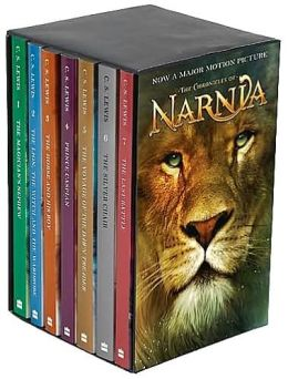 Chronicles of narnia book set barnes and noble
