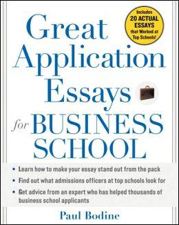 Great application essays business school scribd