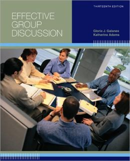 Effective Group Discussion Galanes 95