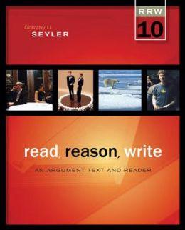 Seyler dorothy u. read reason write an argument text and reader