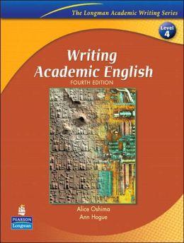 writing academic english fourth edition alice oshima answer key