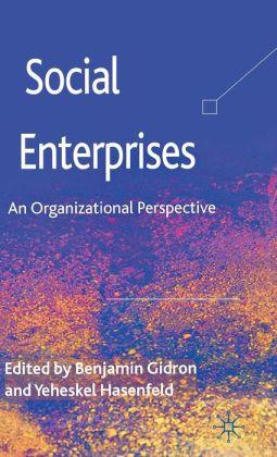 Social Enterprises: An Organizational Perspective Benjamin Gidron and Yeheskel Hasenfeld