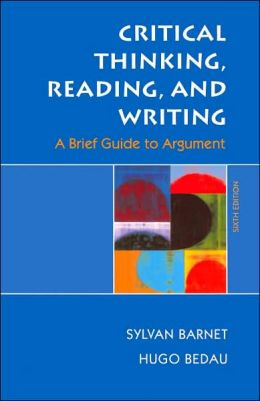 Critical Thinking Reading And Writing A Brief Guide To Argument 8th Edition