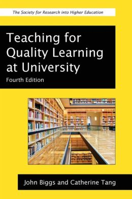 Teaching For Quality Learning At University Edition 4 By