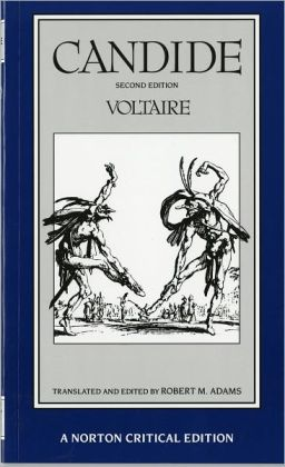 A literary analysis of the characters in candide by voltaire