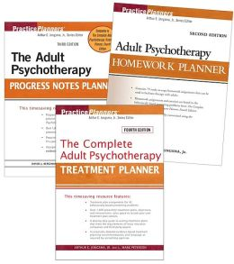 Adolescent Set: Treatment 4th Edition, Homework 2nd Edition, Progress Notes 3rd Edition (PracticePlanners) Arthur E. Jongsma Jr.