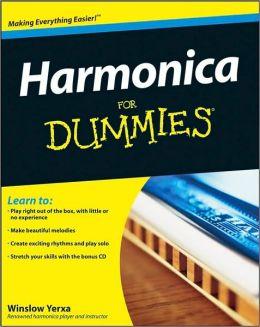 Harmonica For Dummies Winslow Yerxa