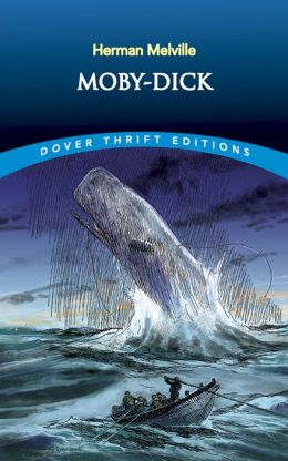 A literary analysis of the great white whale in moby dick by herman melville