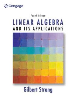 introduction to linear algebra strang solutions manual 4th