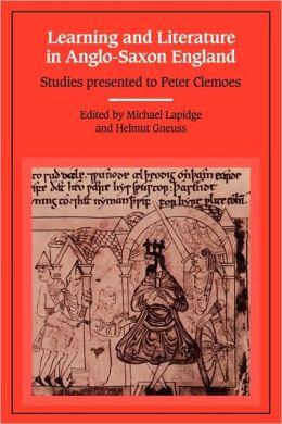 Anglo-Saxon England Peter Clemoes
