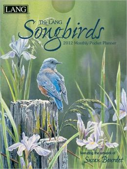 2012 Songbirds Monthly Pocket Planner Perfect Timing - Lang