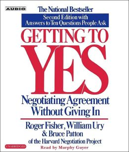 Getting To Yes Summary