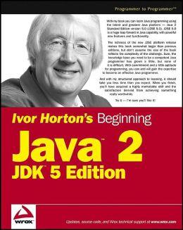 Beginning Java 2 (Programmer to Programmer) Ivor Horton