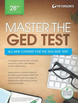 Master the GED 2014 Peterson's