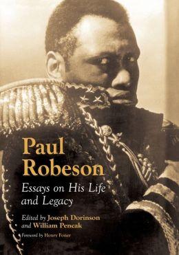 Paul robeson essay