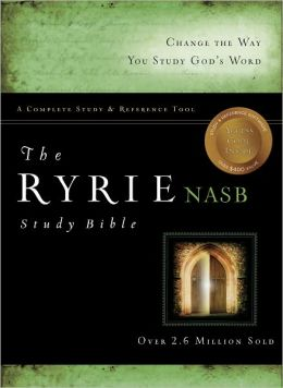 The Ryrie NAS Study Bible Genuine Leather Black Red Letter (Ryrie Study Bibles 2008) Charles C. Ryrie