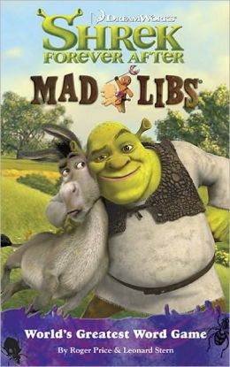 Shrek Forever After Mad Libs Series By Roger Price