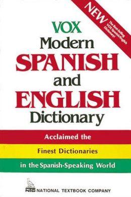 ENGLISH SPANISH TO DICTIONARY