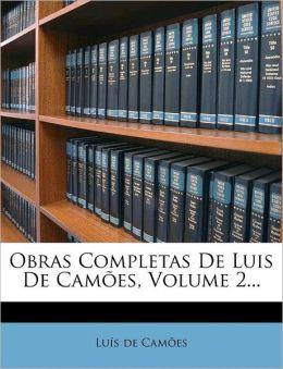 Obras Completas de Luis de Cam&otildees, Tomo III (Portuguese Edition) Luis Vaz de Camoes