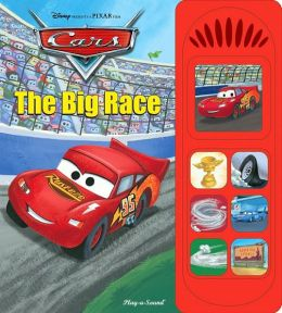 Cars  The Big Race Book