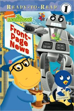 Front-Page News (Backyardigans Ready-to-Read) Jodie Shepherd and Carlo Lo Raso