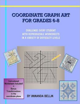 coordinate graph art for grades 6 8 challenge every student with reproducible worksheets in a. Black Bedroom Furniture Sets. Home Design Ideas