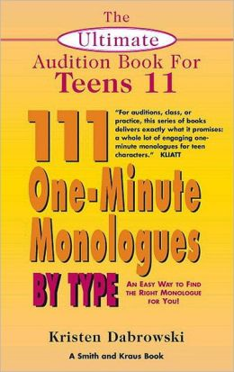 Male monologues for teens
