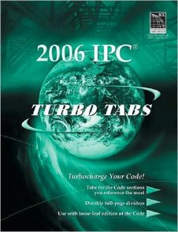 2009 International Plumbing Code: Turbo Tabs for Looseleaf International Code Council