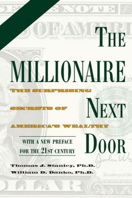 THE MILLIONAIRE NEXT DOOR: The Surprising Secrets of America's Wealthy Thomas J. Danko, William D. Stanley
