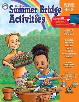 Summer Bridge Activities Grades 4-5 by Carson-Dellosa ...