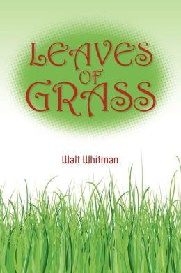 leaves of grass walt whitman - photo #29
