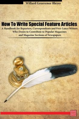 How to write articles for newspapers and magazines download