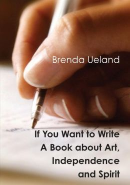 If You Want To Write, Here's the Book For You